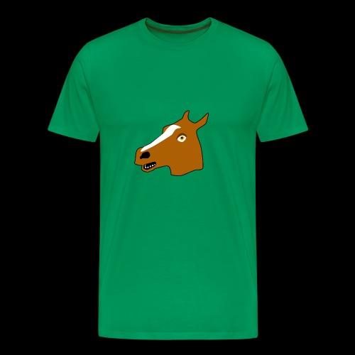 PaardenKOP - Mannen Premium T-shirt
