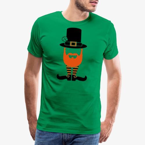 Kobolt mit Bart und Schuhen - Männer Premium T-Shirt