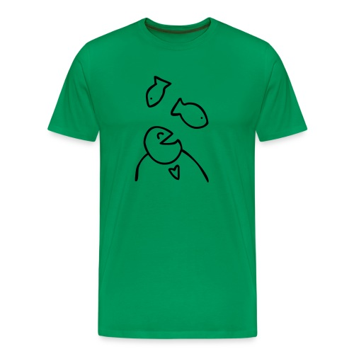 visman3 - Mannen Premium T-shirt