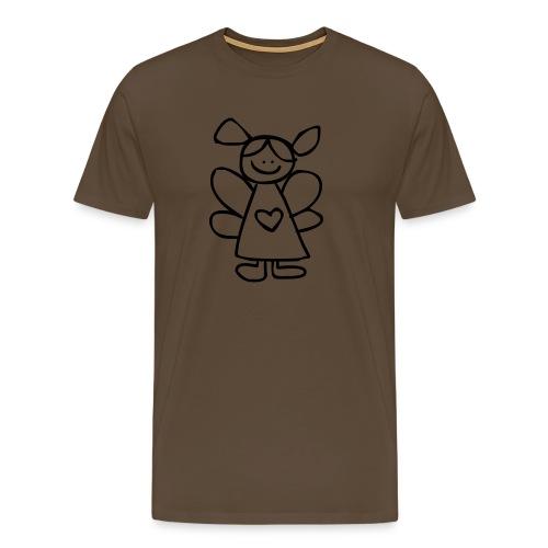 belinda's engeltje - Mannen Premium T-shirt