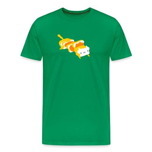 Cat sandwich Gatto sandwich - Maglietta Premium da uomo