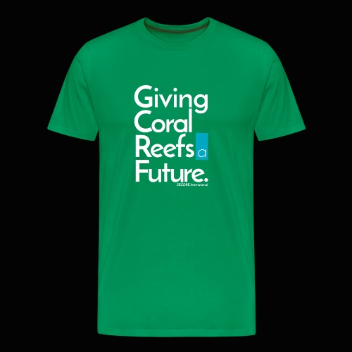 Giving Coral Reefs a Future - Men's Premium T-Shirt