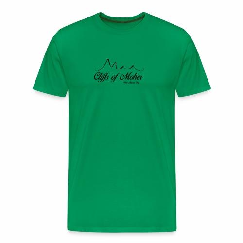 Wild Atlantic Way - The Cliffs of Moher - Men's Premium T-Shirt