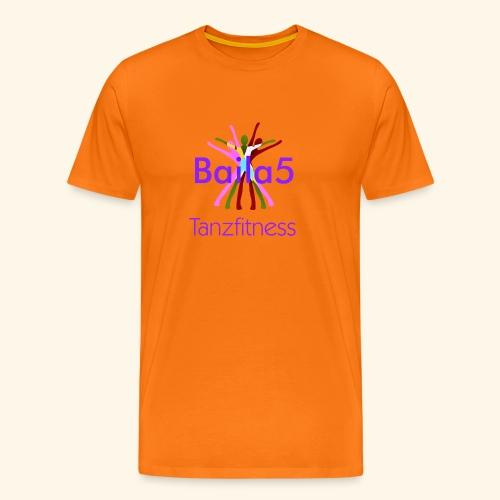 Baila5 Tanzfitness violet - Männer Premium T-Shirt