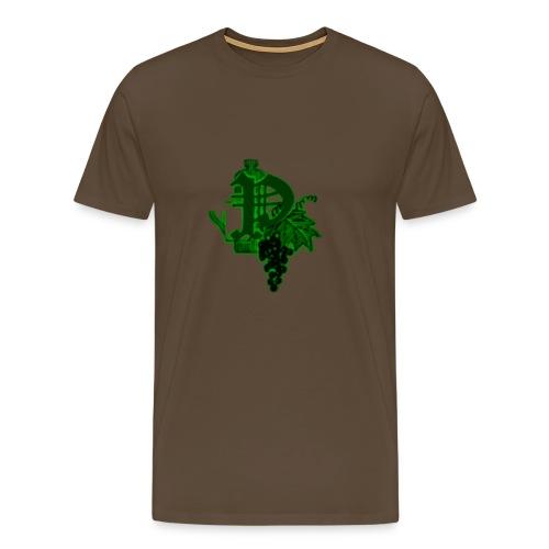 Paping Dranken Groen - Mannen Premium T-shirt