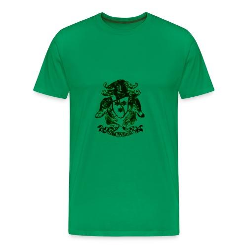 1788 Paping Groen - Mannen Premium T-shirt