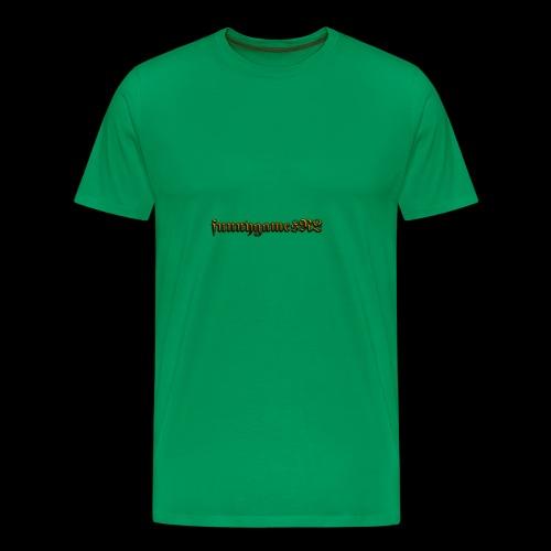 Cool Text funnygamesNL 276368389500691 - Mannen Premium T-shirt
