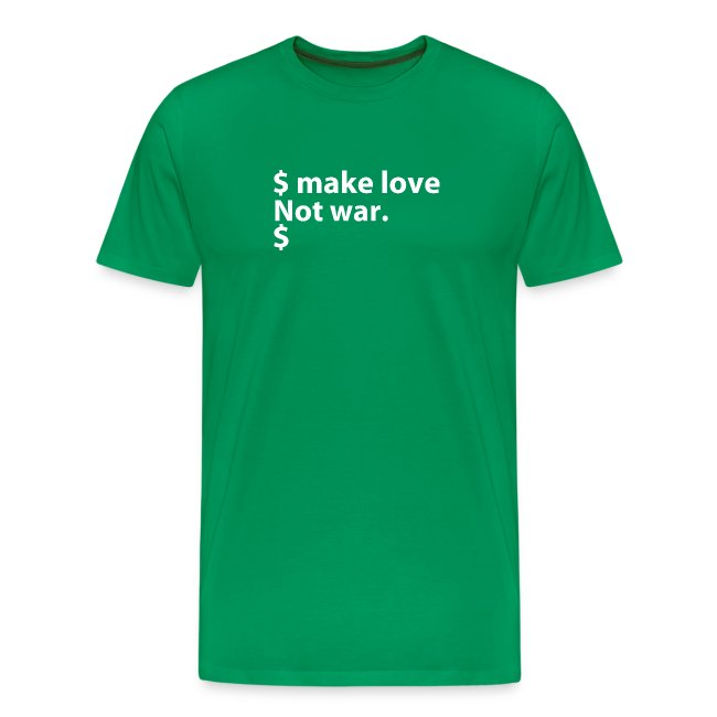 Make love not war linux
