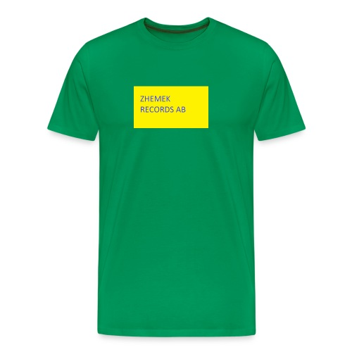 ZHEMEK RECORDS OFFICIAL SHIRT - Premium-T-shirt herr