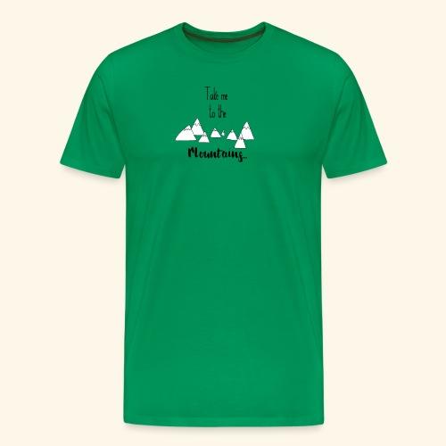 To the mountains - Men's Premium T-Shirt