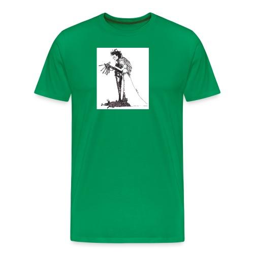 EdwardScissorhands.jpg - Men's Premium T-Shirt