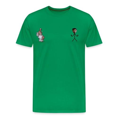 waterbobo png - Maglietta Premium da uomo