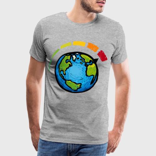 Urgence Climatique - T-shirt Premium Homme