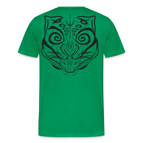The Parvati Cat by Stringhedelic - Black - Men's Premium T-Shirt