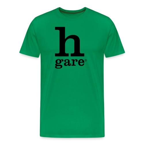 HGARE LOGO - Maglietta Premium da uomo