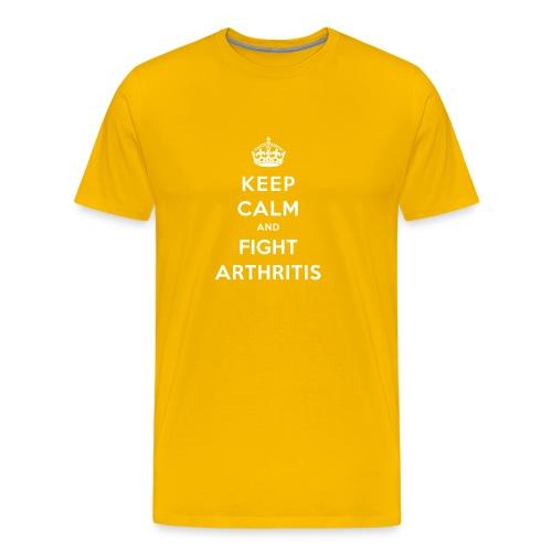 Keep Calm and Fight - Männer Premium T-Shirt