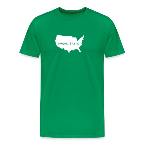 usaroguestatevectortoupload 2 - Men's Premium T-Shirt