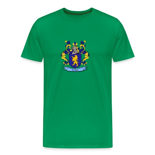 Evans Family Crest - Men's Premium T-Shirt