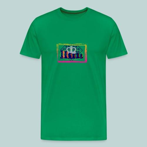 figurensatz_vor_brett - Männer Premium T-Shirt