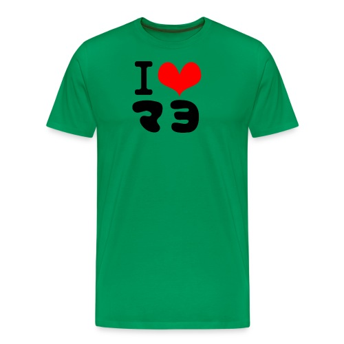 I Love MAYO(J) - Men's Premium T-Shirt