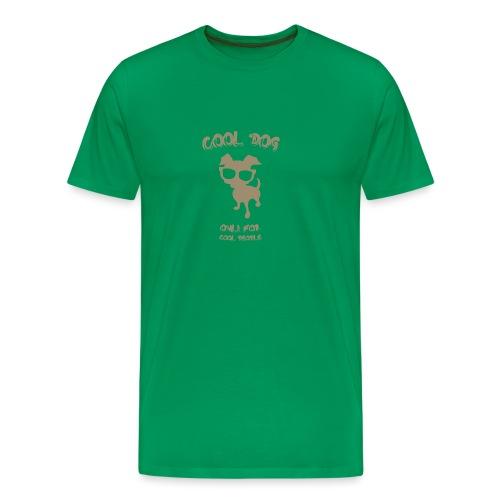 COOL DOG Tortora - Maglietta Premium da uomo