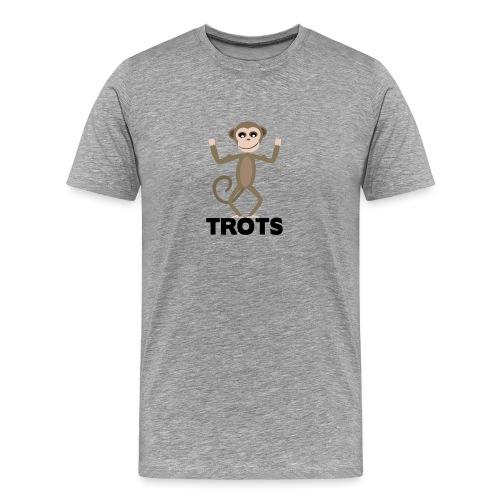 apetrots aapje wat trots is - Mannen Premium T-shirt