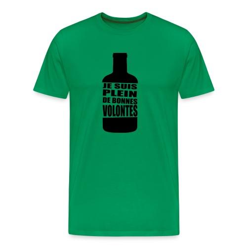 Bonnes volontés - T-shirt Premium Homme