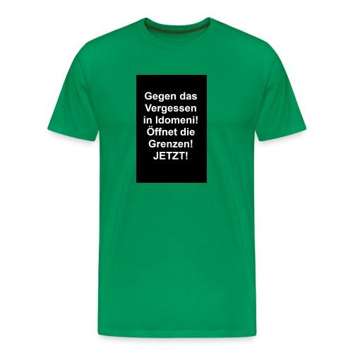 Gegen das Vergessen - Männer Premium T-Shirt