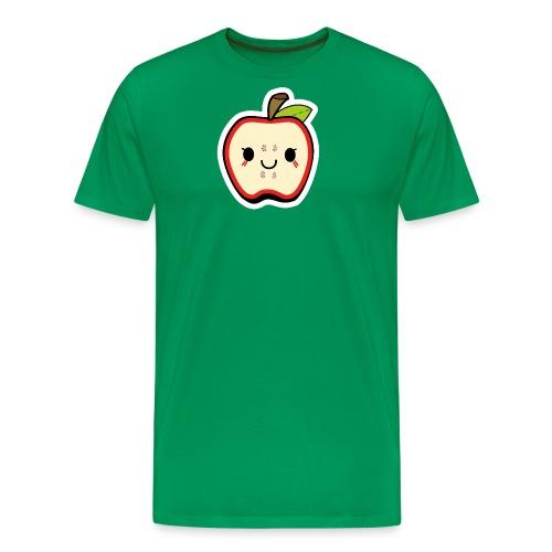Kawaii Apfel - Männer Premium T-Shirt