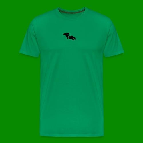 F4 - Premium-T-shirt herr
