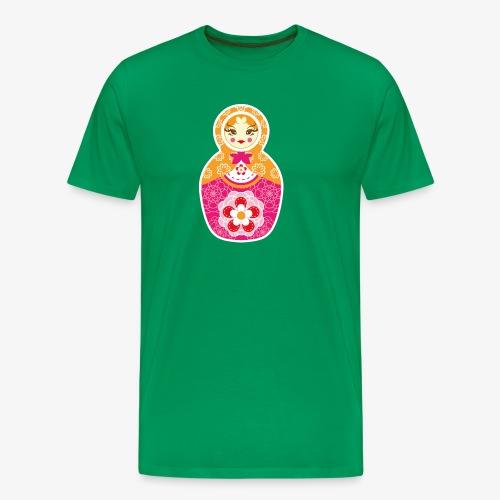 Matrioshka - Camiseta premium hombre