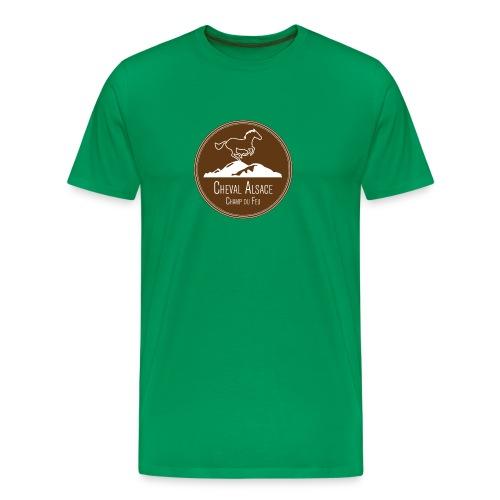 cheval alsace brun - T-shirt Premium Homme