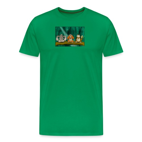Drei Affen - Männer Premium T-Shirt