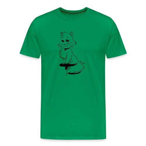 Mangakatze - Männer Premium T-Shirt