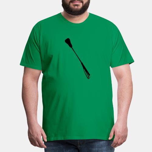 Gerte - riding crop - Männer Premium T-Shirt