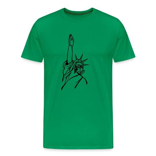spray of liberty - Mannen Premium T-shirt