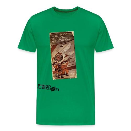 sirian legion logo face - T-shirt Premium Homme