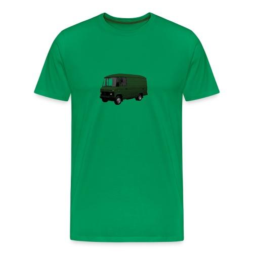508 groen driekwart - Mannen Premium T-shirt