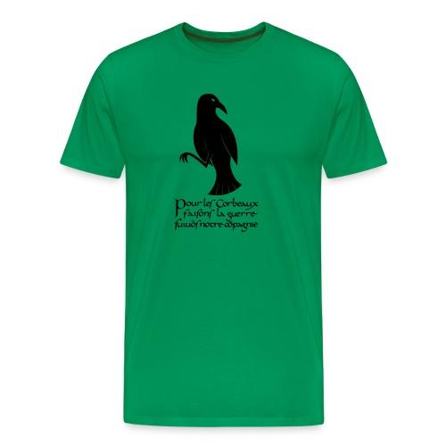 XK Corbeau Byzantin - T-shirt Premium Homme