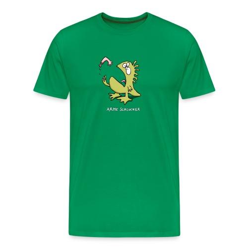 arme schlucker - Männer Premium T-Shirt
