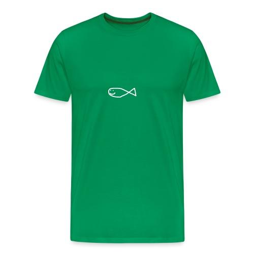 Klassisk Strandfisk Hoodie - Premium T-skjorte for menn