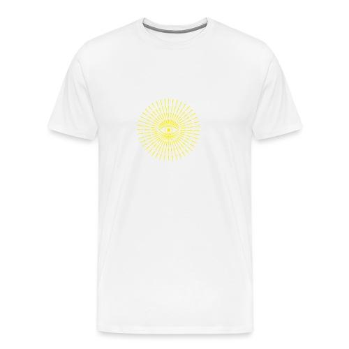 GeomTRIBE tattoo ochio - Maglietta Premium da uomo