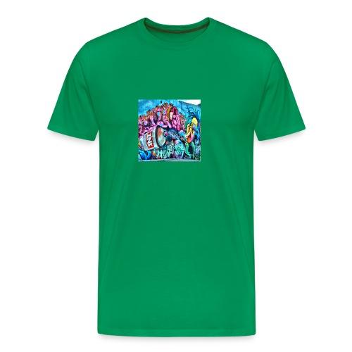 arte urbano - Camiseta premium hombre