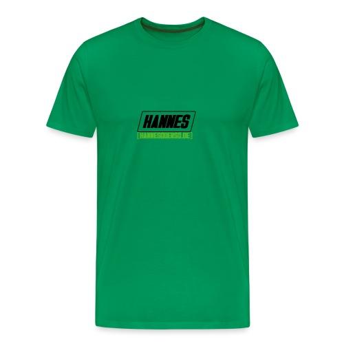 Hannes Logo - Männer Premium T-Shirt