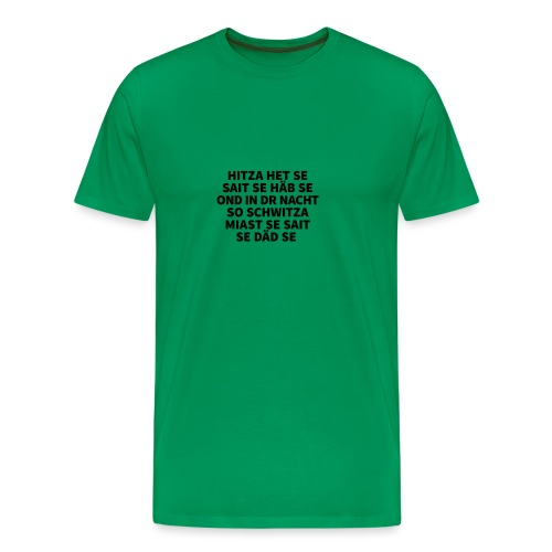 Hitza - Männer Premium T-Shirt
