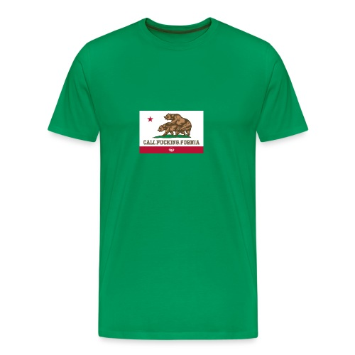 California, Californiano, Fuck, Orso - Maglietta Premium da uomo