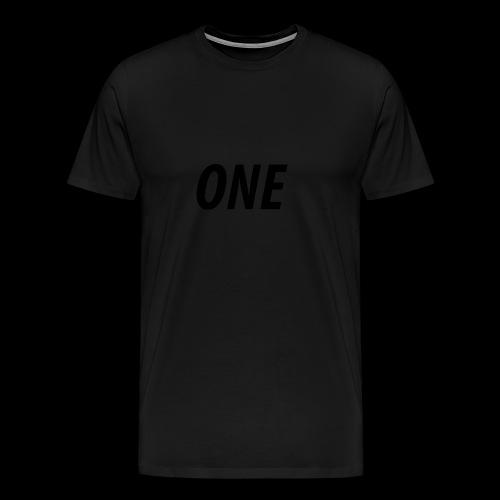 WEAREONE x LETTERS - Mannen Premium T-shirt