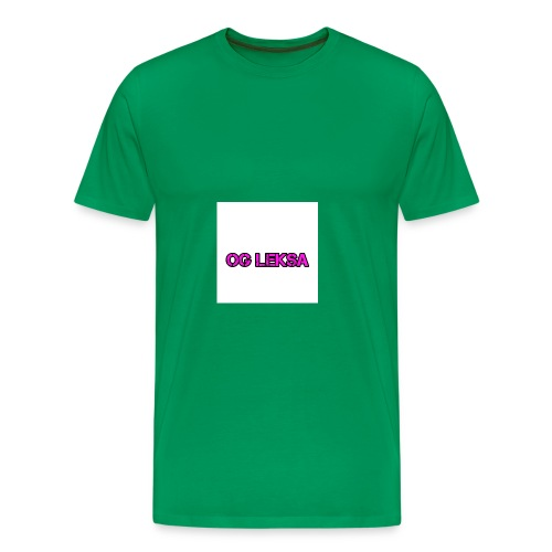 Miesten Huppari OG Leksa - Miesten premium t-paita