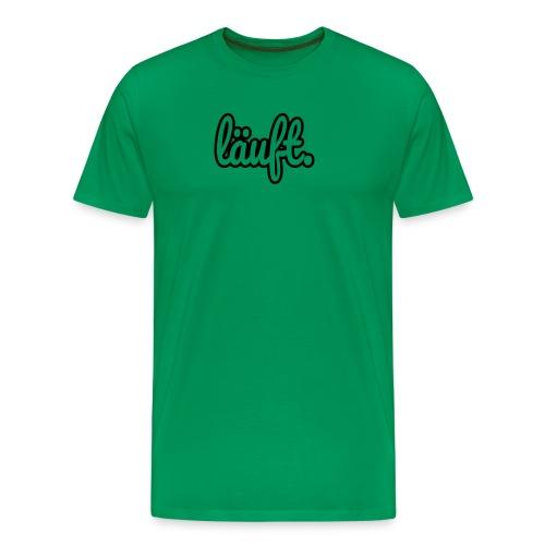 läuft. - Männer Premium T-Shirt