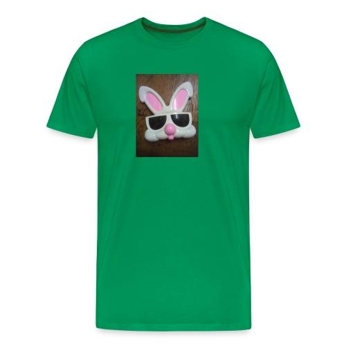 Konijnen bril - Mannen Premium T-shirt